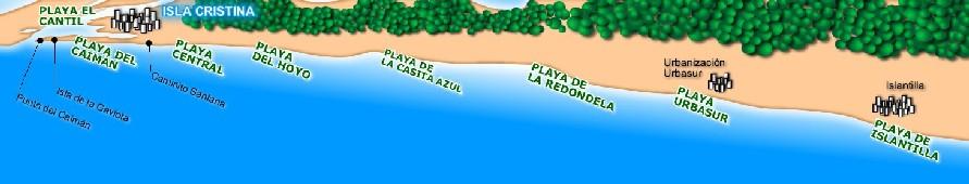 Isla Cristina tiene unos 12 Kilu00f3metros de doradas arenas con grano ...