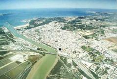 Vista de puerto santa maria