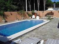 Casa en chiclana para alquilar con piscina barbacoa y otras comodicades